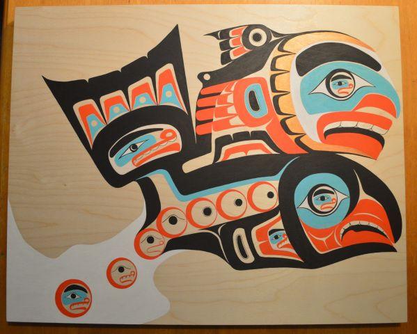 Tlingit Salmon Boy story by Robert Davis Hoffmann